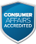 consumer affairs accredited logo